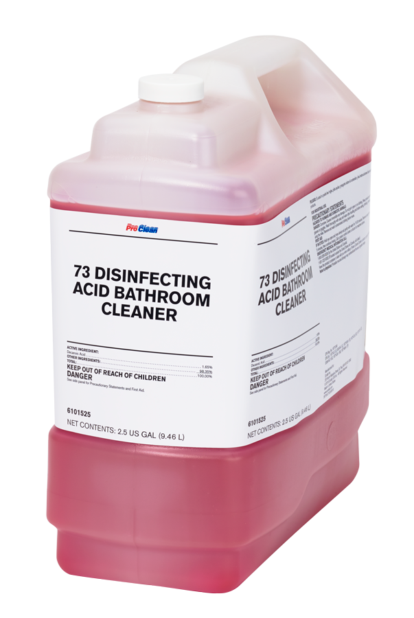 73 Disinfecting Acid Bathroom Cleaner ProClean
