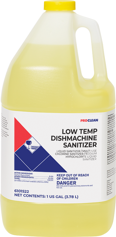 Low Temp Dishmachine Sanitizer ProClean