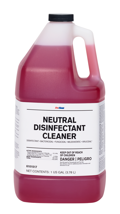 Neutral Disinfectant Cleaner ProClean