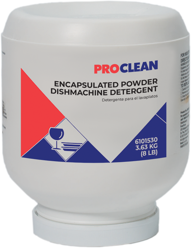 ProClean Encapsulated Powder Dishmachine Detergent