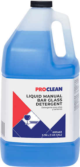 ProClean Liquid Manual Bar Glass Detergent